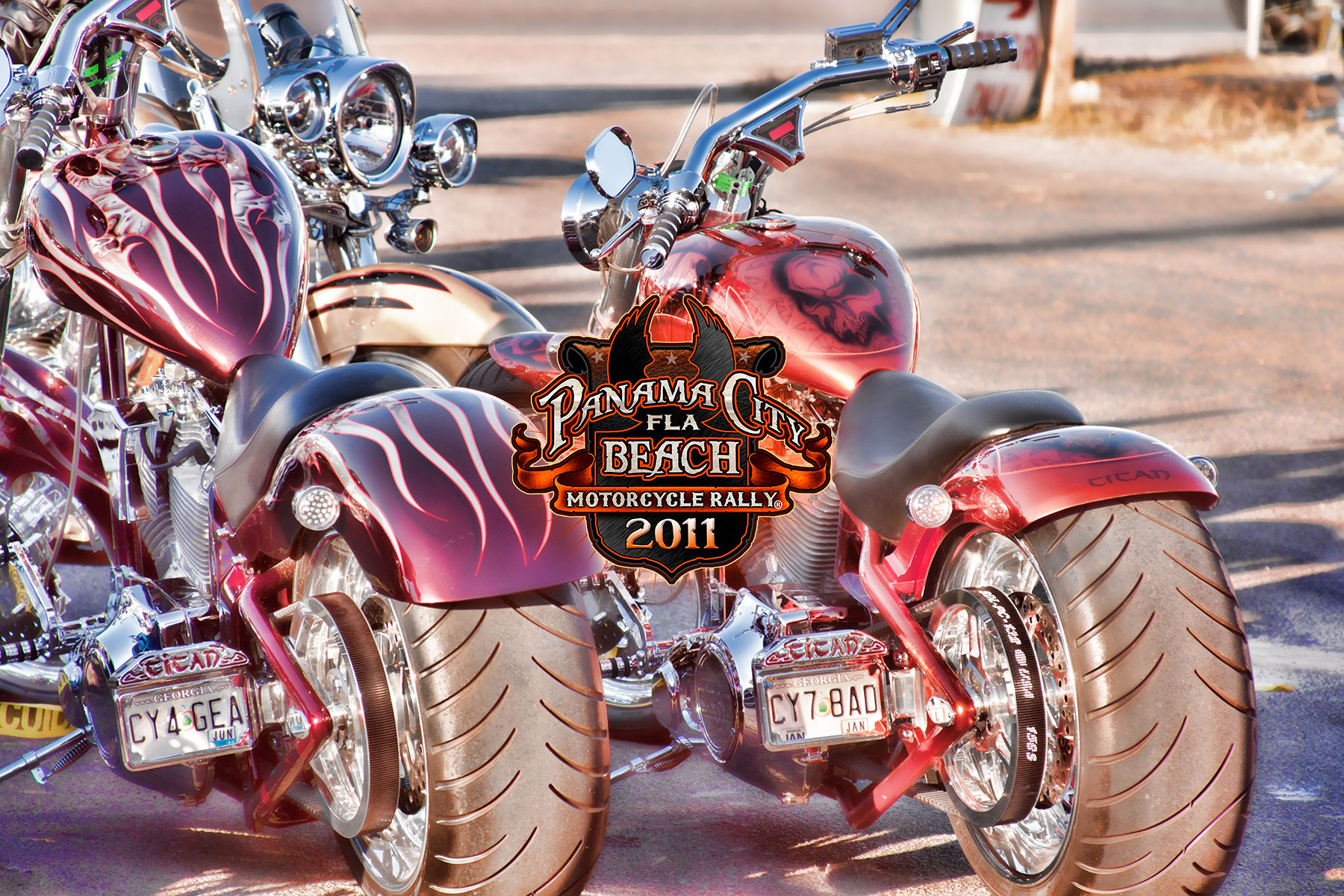 Motorcycle Rally Photos | Panama City Beach Motorcycle Rally® | 2011 Event Photos