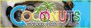 Coconuts Restaurant | Panama City Beach Dining