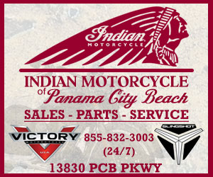 Biker Friendly Motorcycle Shops | Indian Motorcycle Panama City Beach