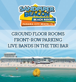 Sandpiper Beacon Beach Resort | Panama City Beach Lodging