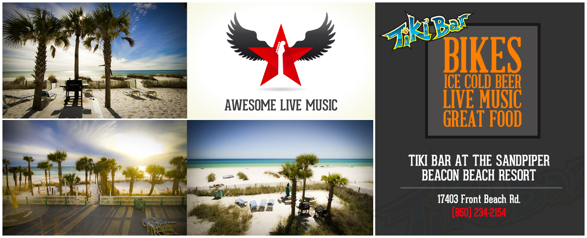 Panama City Beach Motorcycle Rally | Sandpiper Tiki Bar Entertainment