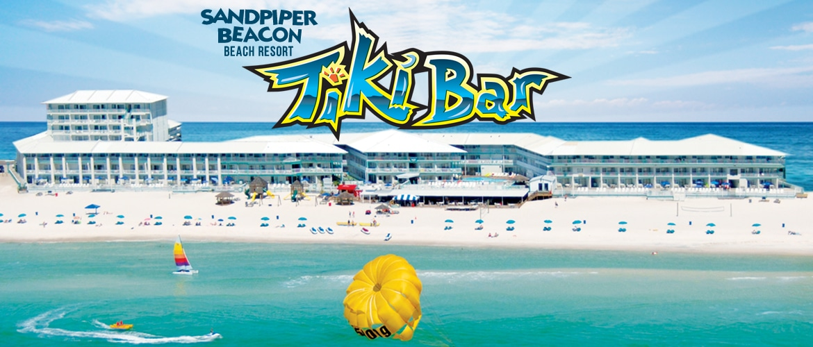 Sandpiper Beacon Beach Resort Tiki Bar | Rally Venues