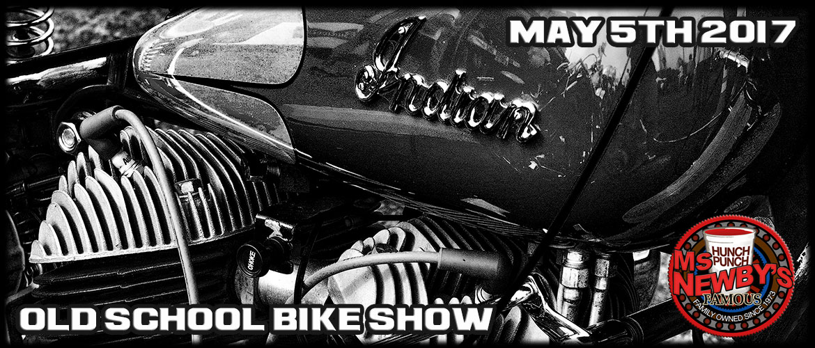 Old School Bike Show at Ms. Newbys