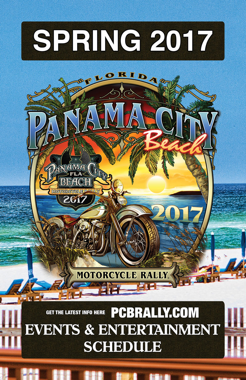 2017 Spring Panama City Beach Motorcycle Rally® Guide | Page 1
