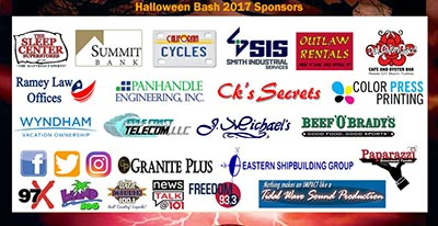 Toys For Kids Halloween Benefit Sponsors