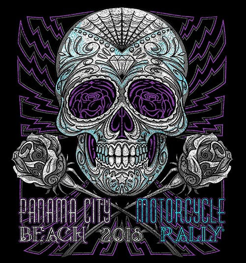 Panama City Beach Motorcycle Rally® | 2018 Official Merchandise