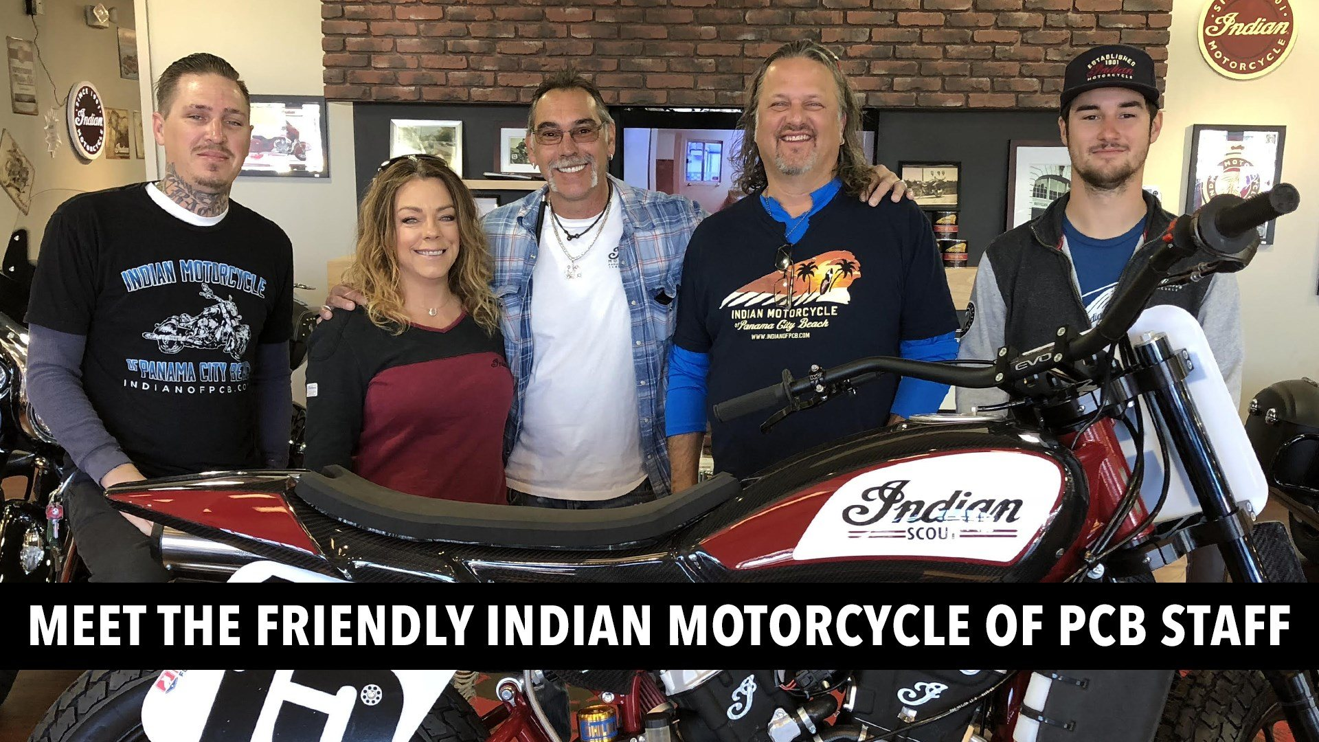 Meet our Staff at Indian Motorcycle of Panama City Beach