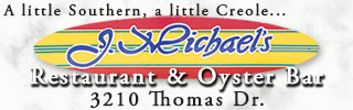 J.Michaels Restaurant and Oyster Bar | Panama City Beach Dining