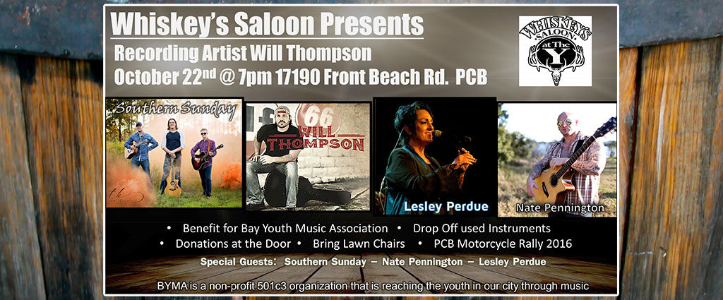 Whiskey's Saloon BYMA Benefit