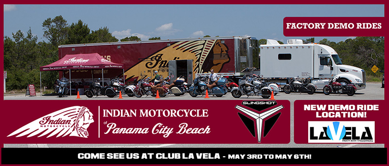 Indian Motorcycle Rally Demo Rides UPDATE