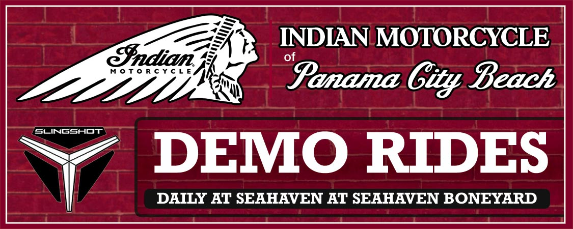 2018 Indian Motorcycle of PCB Factory Demo Rides