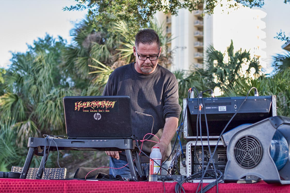 Party out Back with DJ Al | Panama City Beach Motorcycle Rally® | Ms. Newby's